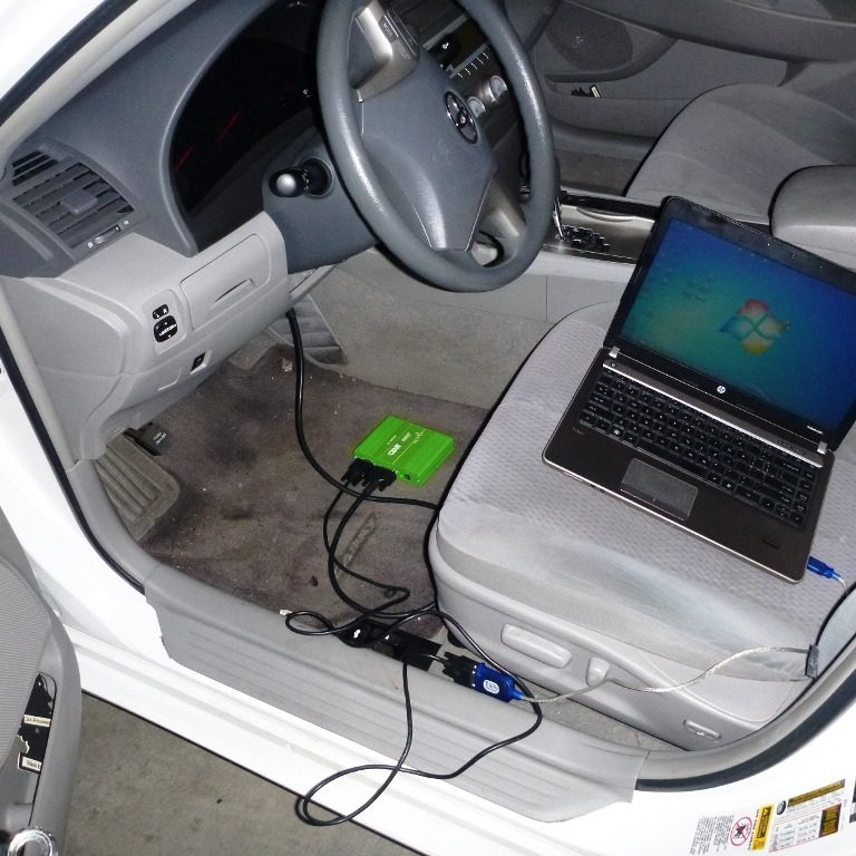 Performing Crash Data Retrieval on Toyota Camry
